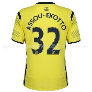Camiseta Tottenham Hotspur Assou Ekotto Tercera 14/15