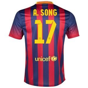 Camiseta del A.Song Barcelona Primera 2013/2014