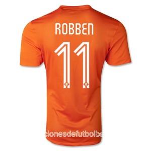 Camiseta nueva del Holanda de la Seleccion WC2014 Robben Primera