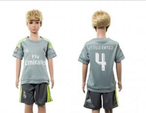 Camiseta nueva Real Madrid Niños 4 Away 2015/2016