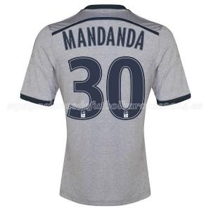Camiseta Marseille Mandanda Segunda 2014/2015