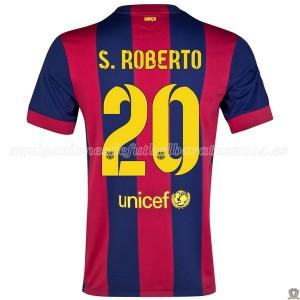 Camiseta Barcelona S.Roberto Primera 2014/2015