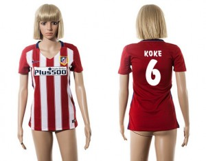 Camiseta de Atletico Madrid 2015/2016 6 Mujer