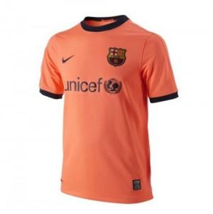 Camiseta nueva del Barcelona 2009/2010 Tailandia Segunda