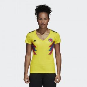 Camiseta nueva del COLOMBIA 2018 Mujer Home