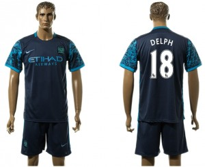 Camiseta nueva del Manchester City 18# Away