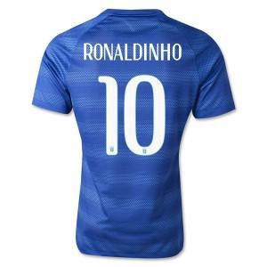 Camiseta nueva del Brasil de la Seleccion WC2014 Ronaldinho Segunda