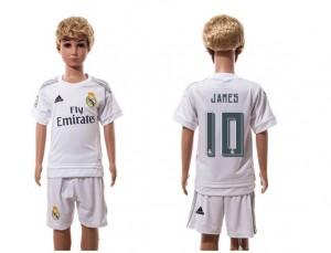 Camiseta de Real Madrid 2015/2016 Home 10 Niños