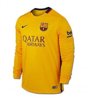Camiseta nueva del Barcelona 2015/2016 Equipacion Segunda