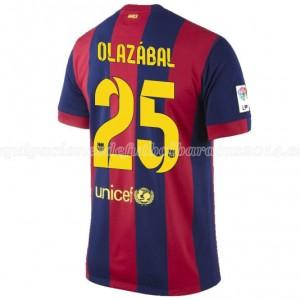 Camiseta nueva del Barcelona 2014/2015 Olazabal Primera