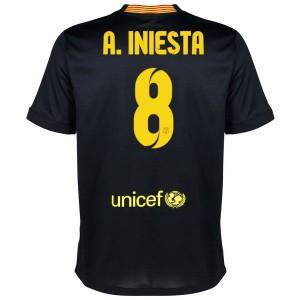 Camiseta de Barcelona 2013/2014 Tercera A.Iniesta Equipacion
