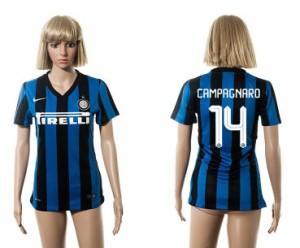 Camiseta nueva del Inter Milan 2015/2016 14 Mujer