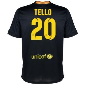 Camiseta de Barcelona 2013/2014 Tercera Tello Equipacion
