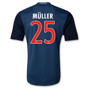 Camiseta Bayern Munich Muller Segunda Equipacion 2013/2014