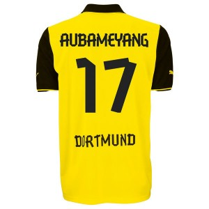Camiseta del Aubameyang Borussia Dortmund Primera 2013/2014