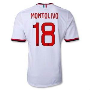Camiseta del Montolivo AC Milan Segunda Equipacion 2013/2014