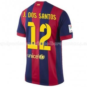 Camiseta nueva Barcelona J.Dos Santos Primera 2014/2015
