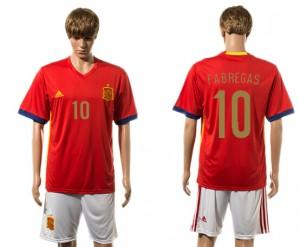 Camiseta nueva del España 2015-2016 10#