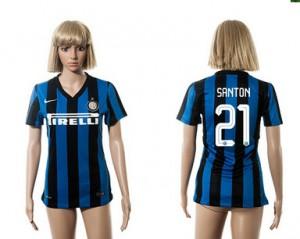 Camiseta nueva Inter Milan Mujer 21 2015/2016