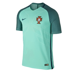 Hombre Camiseta del Vapor Match Portugal Away 2016