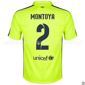 Camiseta nueva del Barcelona 2014/2015 Montoya Tercera