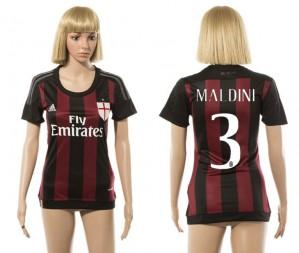 Camiseta nueva del AC Milan 2015/2016 3 Mujer