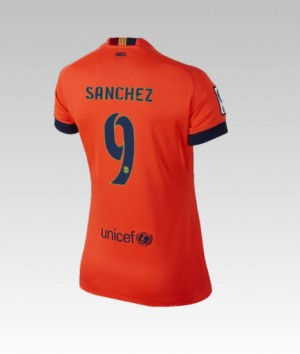 Camiseta de Barcelona 2014/2015 Primera Adriano