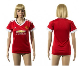 Mujer Camiseta del Manchester United 2015/2016
