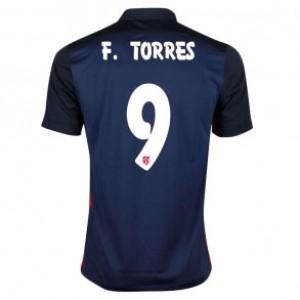 Camiseta del FERNANDO TORRES Atletico Madrid Segunda Equipacion 2015