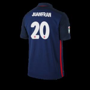 Camiseta nueva del Atletico Madrid 2015/2016 Equipacion JUANFRAN Segunda