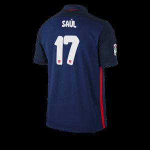 Camiseta nueva del Atletico Madrid 2015/2016 Equipacion SAUL Segunda