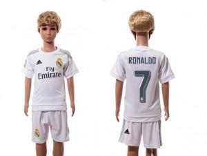 Camiseta nueva del Real Madrid 2015/2016 7 Niños Home