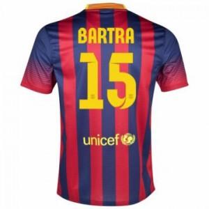 Camiseta Barcelona Bartra Primera Equipacion 2013/2014