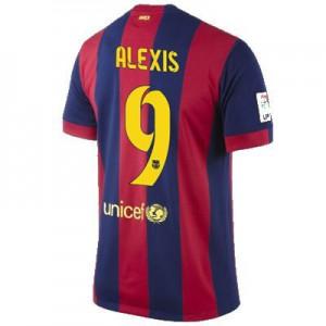 Camiseta del ALEXIS Barcelona Primera Equipacion 2014/2015