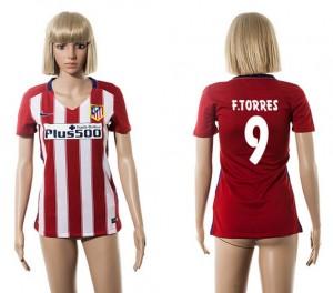 Camiseta Atletico Madrid 9 2015/2016 Mujer