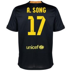 Camiseta nueva Barcelona A.Song Equipacion Tercera 2013/2014