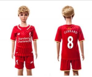 Camiseta de Liverpool 2015/2016 8 Niños