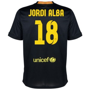 Camiseta de Barcelona 2013/2014 Tercera Jordi Alba Equipacion