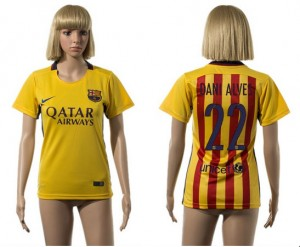 Camiseta de Barcelona 2015/2016 22 Mujer