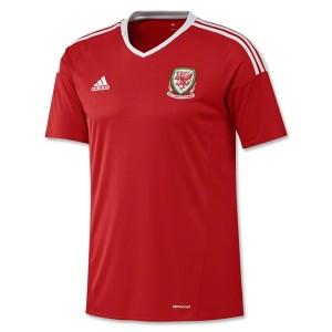 Camiseta nueva del Gales 2016/2017