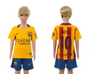 Camiseta de Barcelona 2015/2016 10# Niños