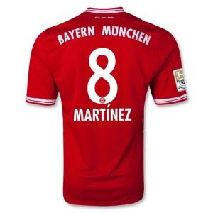 Camiseta nueva Bayern Munich Martinez Primera 2013/2014