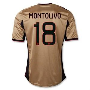 Camiseta AC Milan Montolivo Tercera Equipacion 2013/2014