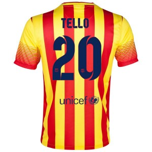 Camiseta nueva Barcelona Tello Segunda 2013/2014