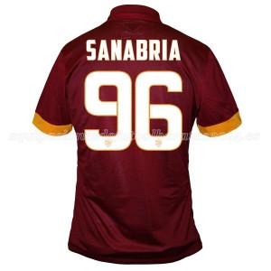 Camiseta nueva del AS Roma 2014/2015 Equipacion Sanabria Primera