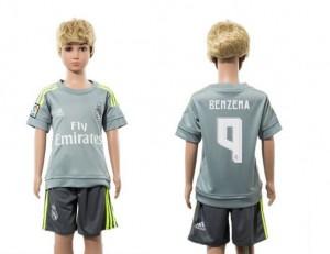 Camiseta Real Madrid 9 Away 2015/2016 Niños
