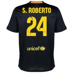 Camiseta de Barcelona 2013/2014 Tercera S.Roberto Equipacion