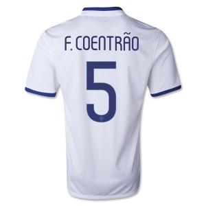 Camiseta nueva Portugal de la Seleccion F Coentrao Segunda 2013/2014