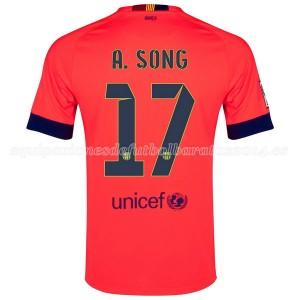 Camiseta del A.Song Barcelona Segunda 2014/2015