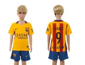 Camiseta nueva Barcelona Niños 09# 2015/2016